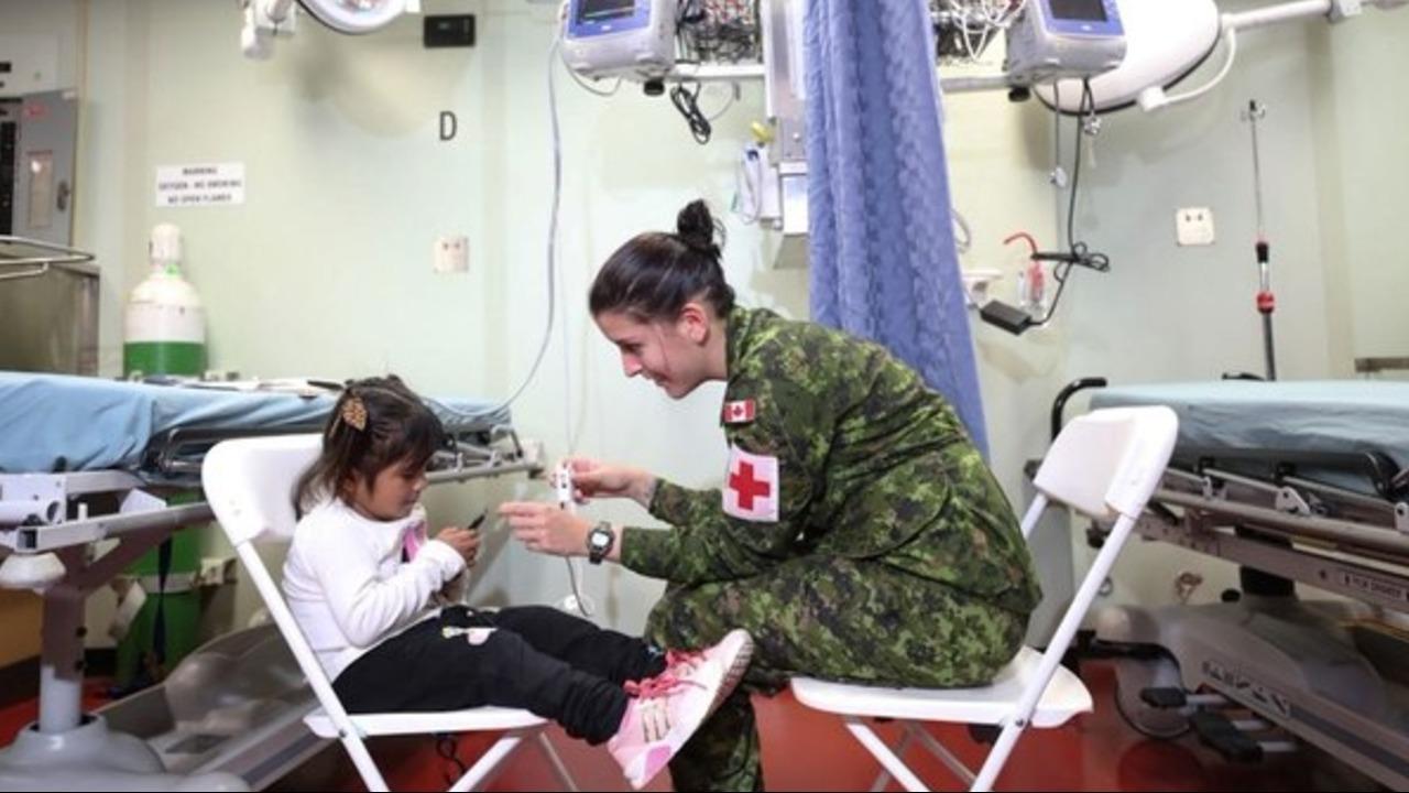 El buque hospital de EEUU ya atendió a más de cinco mil personas al norte de Perú