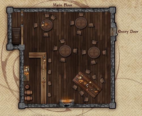 Brawling Bard tavern