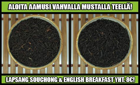 musta tee tarjous teekauppa