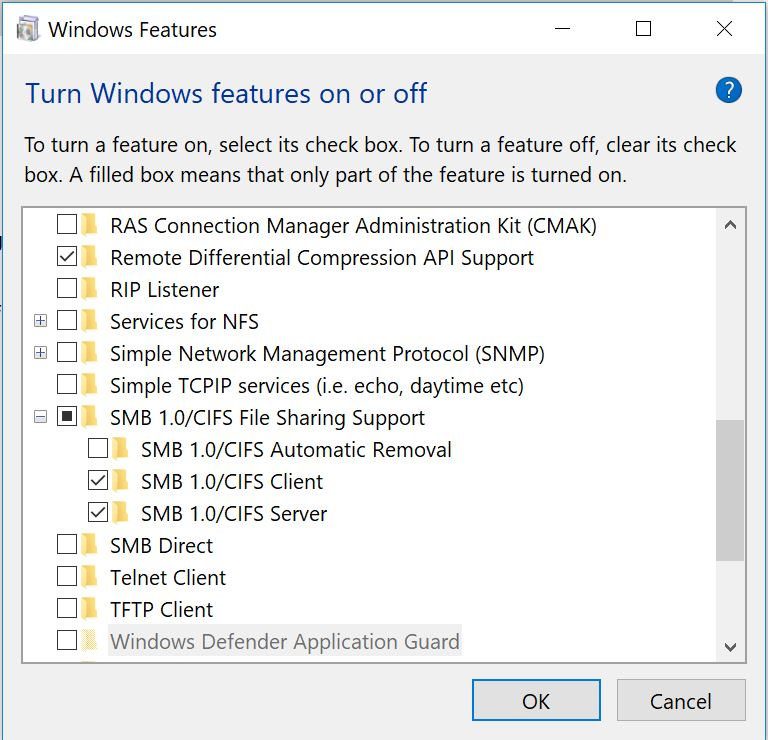 D-Link DNS-323 not discovered after upgrade to Windows 10
