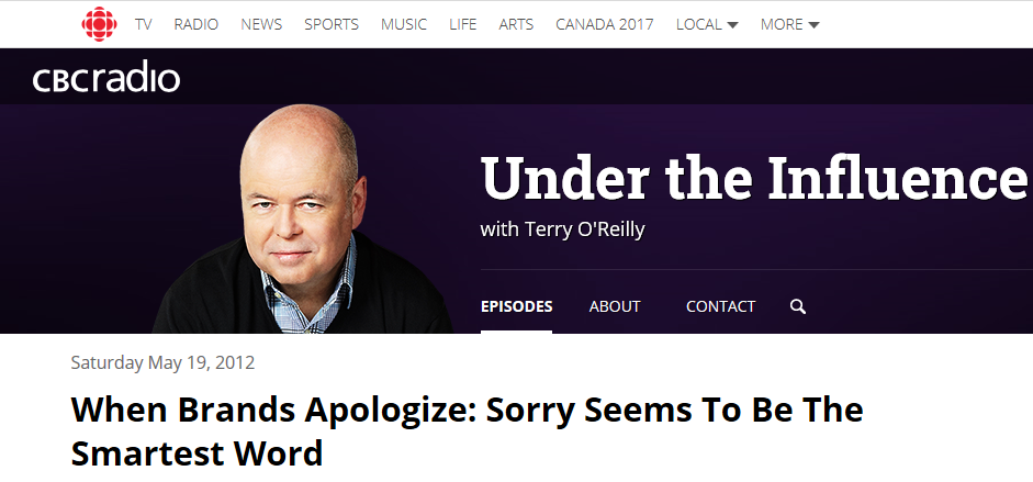 Image of Terry O'Reilly's Podcast