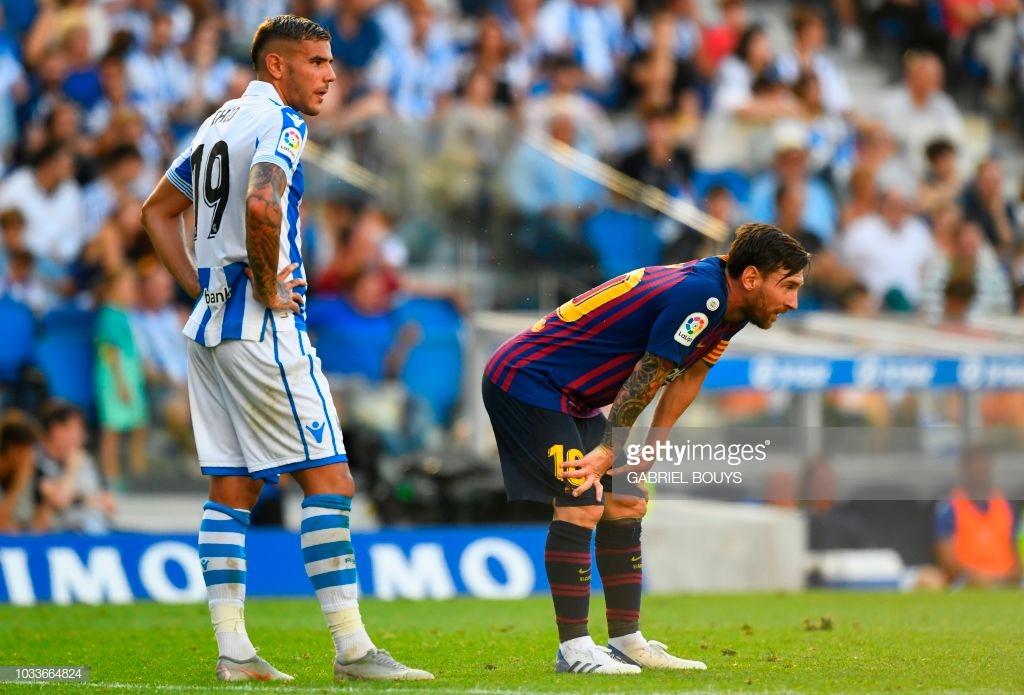 صور مباراة : ريال سوسيداد - برشلونة 1-2 ( 15-09-2018 ) K4