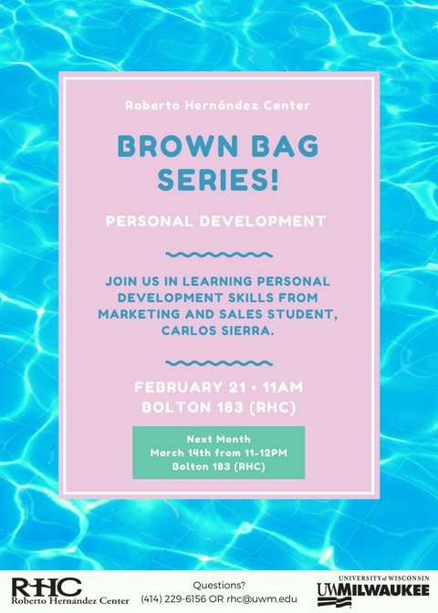 Brown Bag Series Flyer