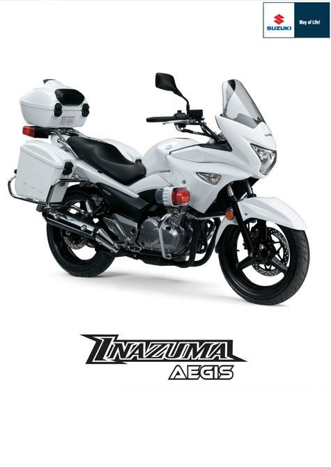 Suzuki Inazuma Aegis 2018