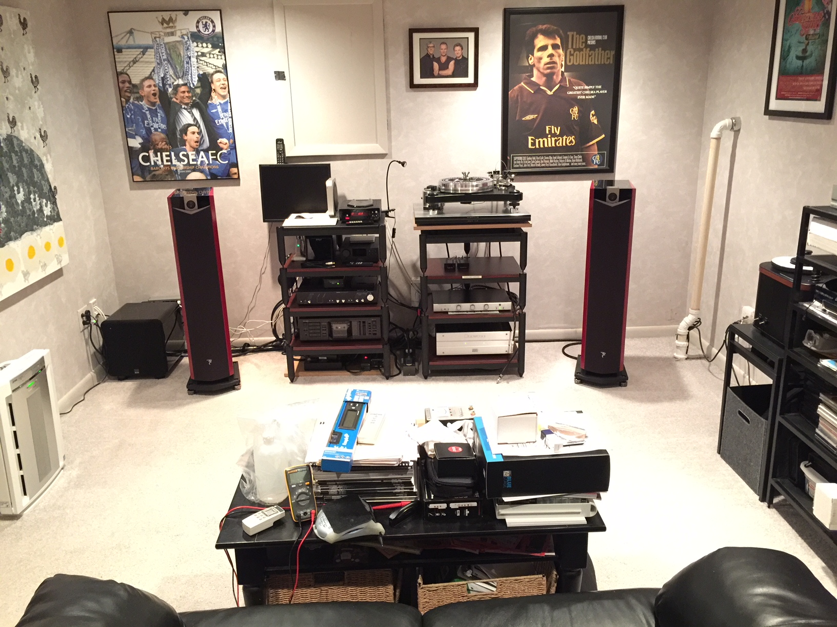 Using Anti-Mode 8033S-II (DSPeaker) for 2 Channel high end