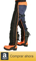 Comprar perneras anti corte, protección motosierra