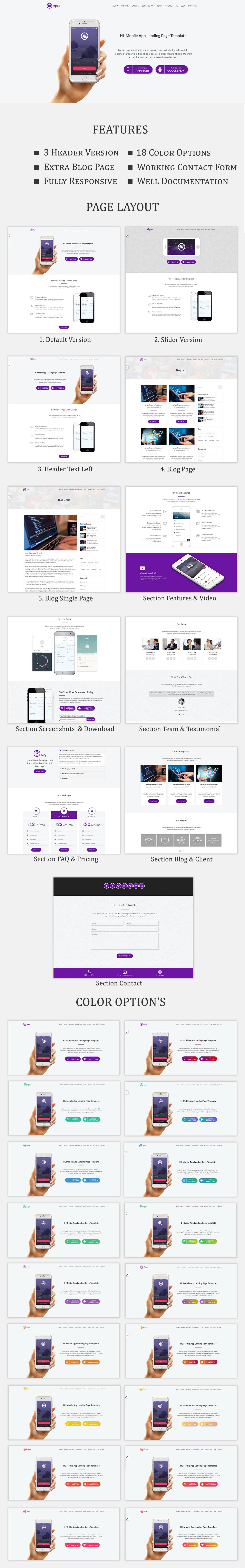 HL - Apps landing page