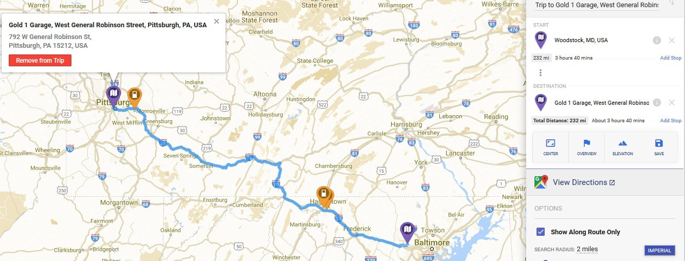 Road Trip From Central Md To Pittsburgh And Back Chevy Bolt Ev Forum