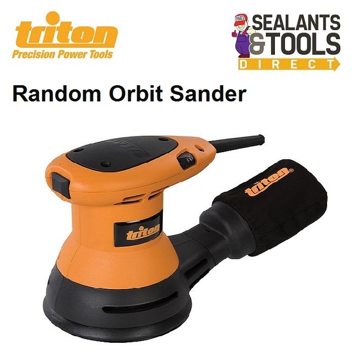 Triton Random Orbit Surface Sander TROS125 545243