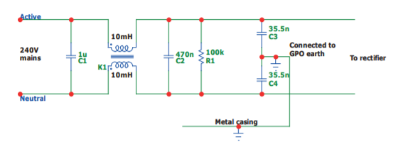 filter determining the resistor value to dissipate energy in rh electronics stackexchange com