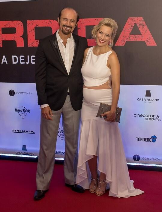Carlos Alc ntara y Luisana Lopilato 1