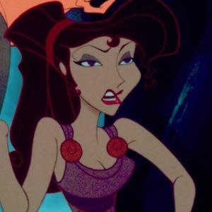 Mégara no filme da Disney