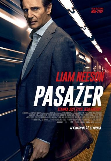 Pasażer / The Commuter (2018) PL.BRRip.XviD-GR4PE | Lektor PL
