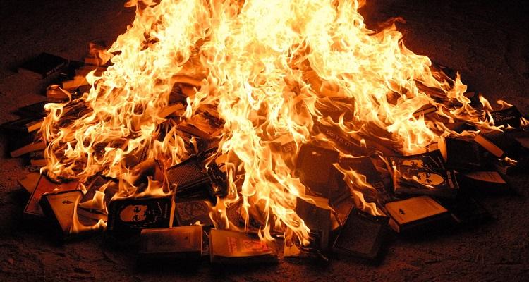 quemar libros