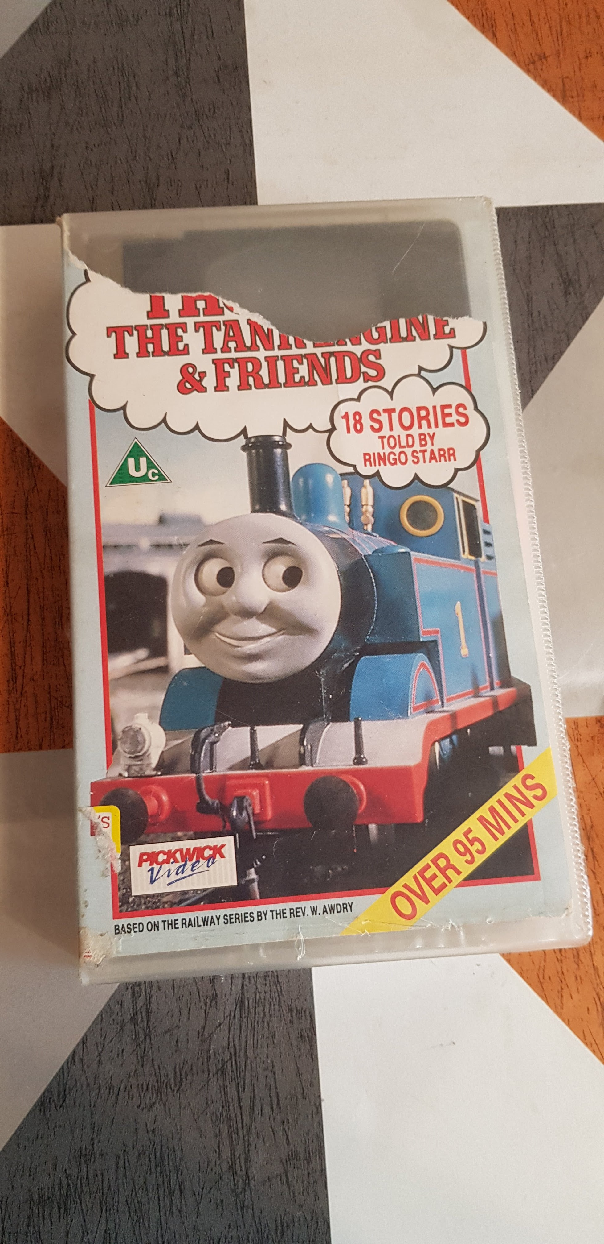 The Best Of Thomas Tank Engine And Friends Ringo Starr VHS Video Tape TBLO