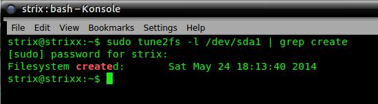 Дата встановлення Ubuntu 14.04