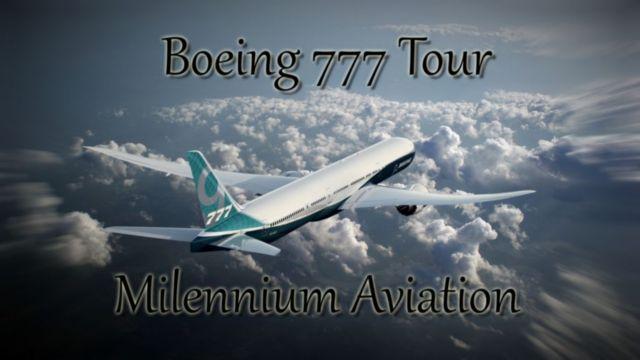 Boeing 777 tour