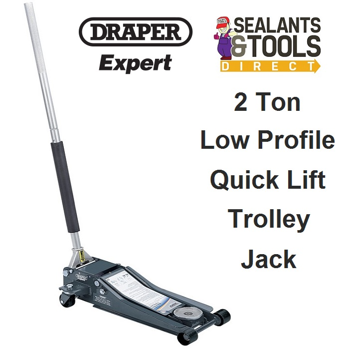 Draper Low Profile Quick Lift Trolley Jack