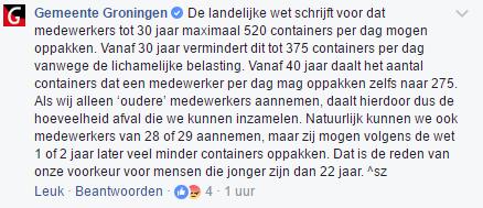 gemeente groningen over leeftijd en containers
