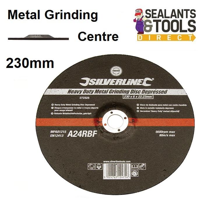 Metal Grinding Discs 230mm 9 Inch 272328