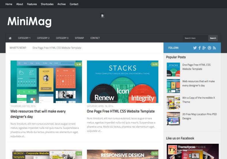 Mini_Mag_Blogger_Template_2