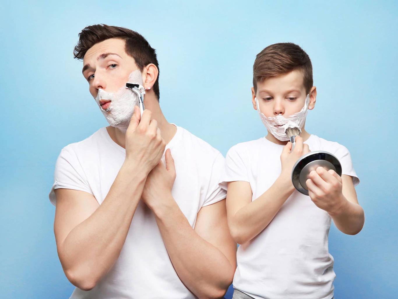 How to fall in love with the shaving procedure