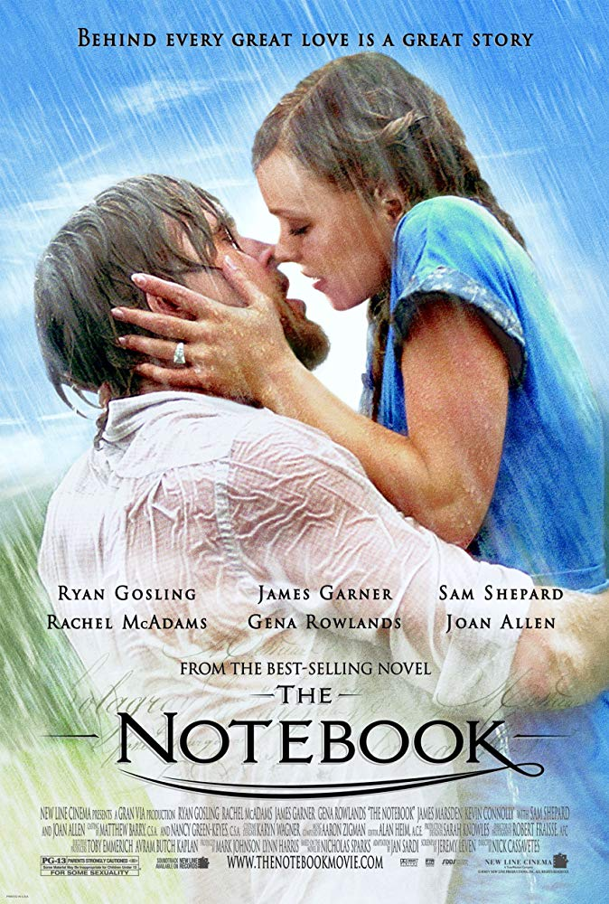 The Notebook (2004) BluRay 720p 900MB