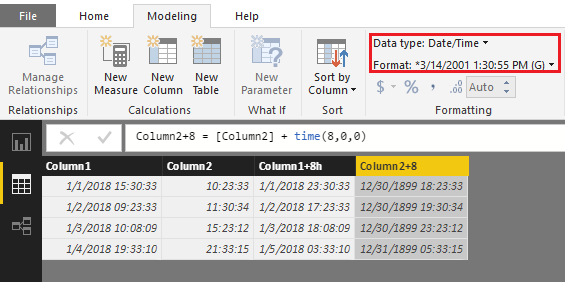 Power_BI_desktop_how_to_add_a_column_which_is_add_8_hours_based_on_another_time_column2