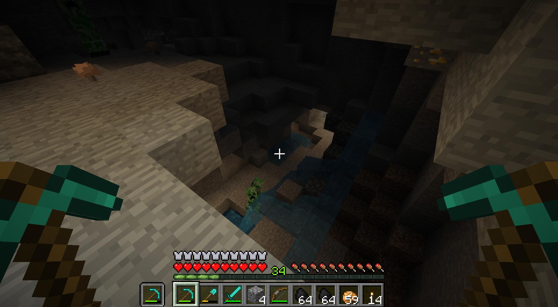 Creeper cave