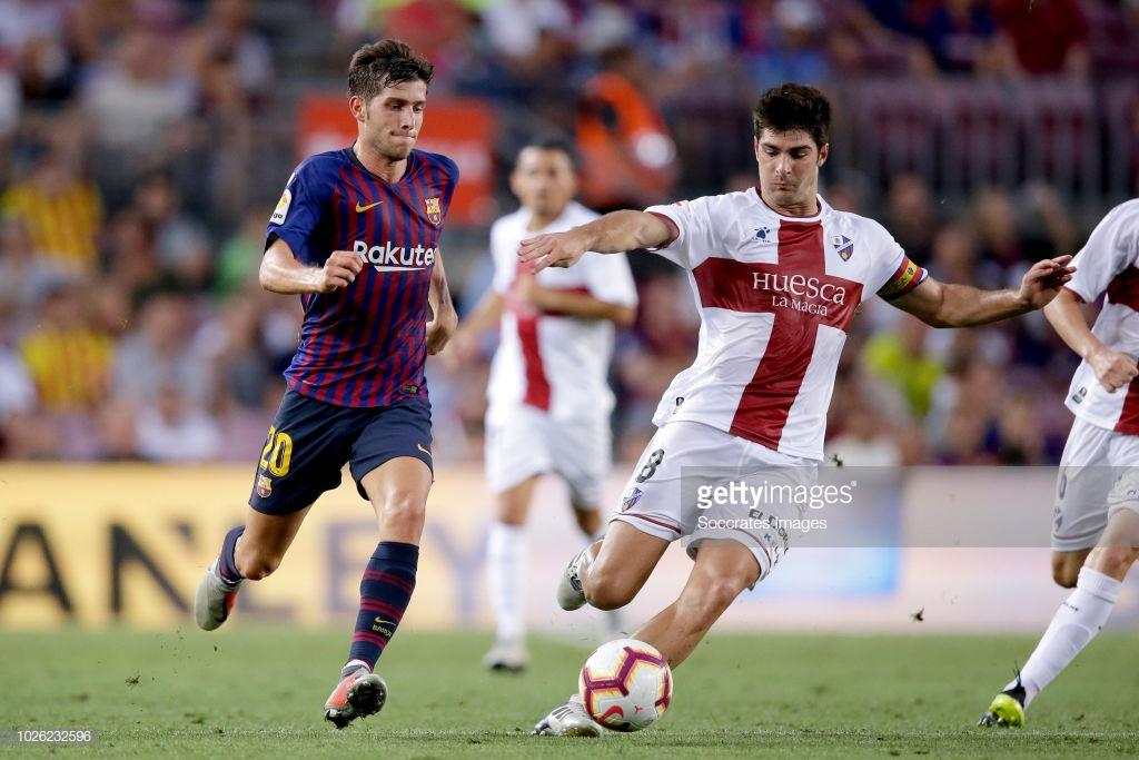 صور مباراة : برشلونة - هويسكا 8-2 ( 02-09-2018 )  R4