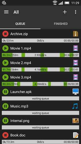 Advanced Download Manager (ADM) Pro 5.1.2 Build 51251 APK