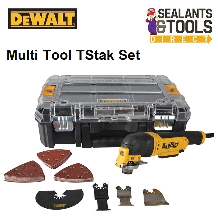 DEWALT Multi Function Multi Tool in TStak Case DWE314K