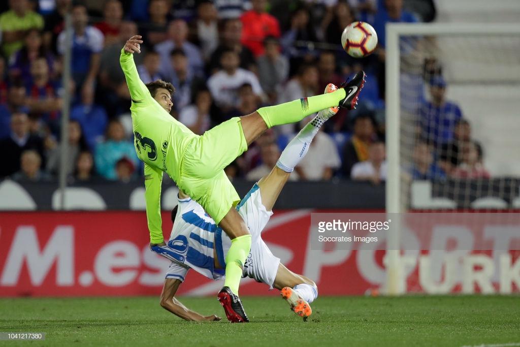 صور مباراة : ليغانيس - برشلونة 2-1 ( 26-09-2018 ) Yyy