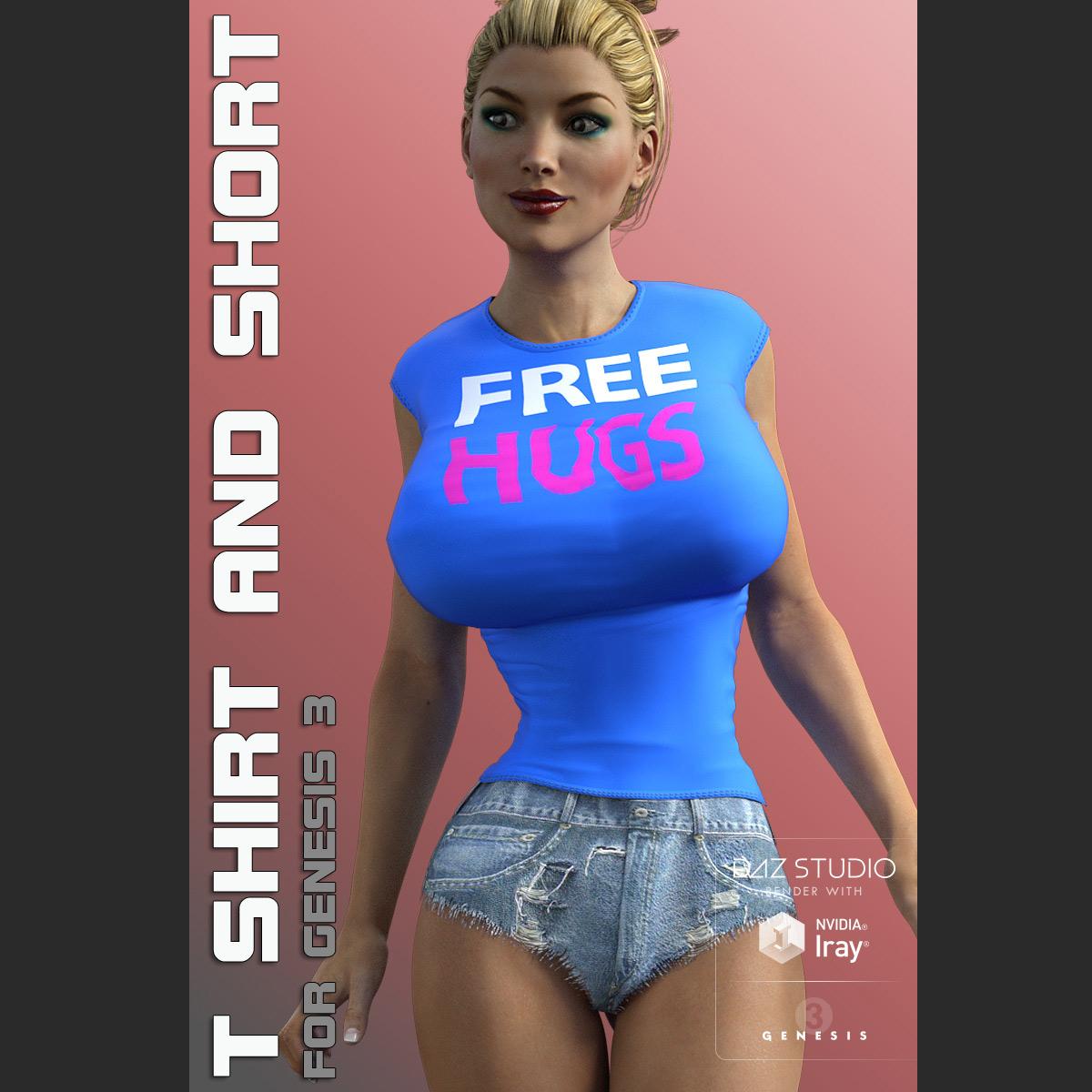 Tshirt & Short for G3 female(s) V7