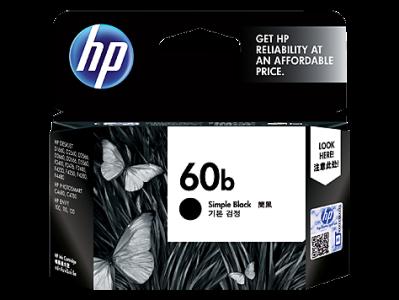 CATRIDGE HP 60B BLACK