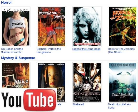 peliculas online en youtube