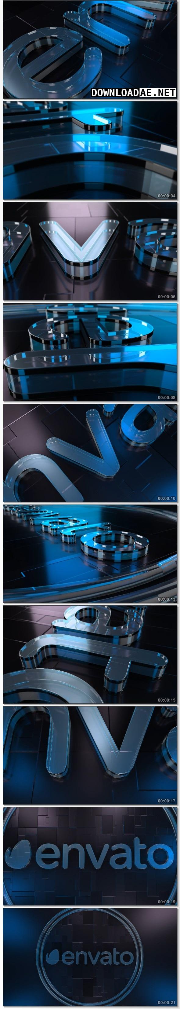 Videohive Cool Glass Logo 21173701