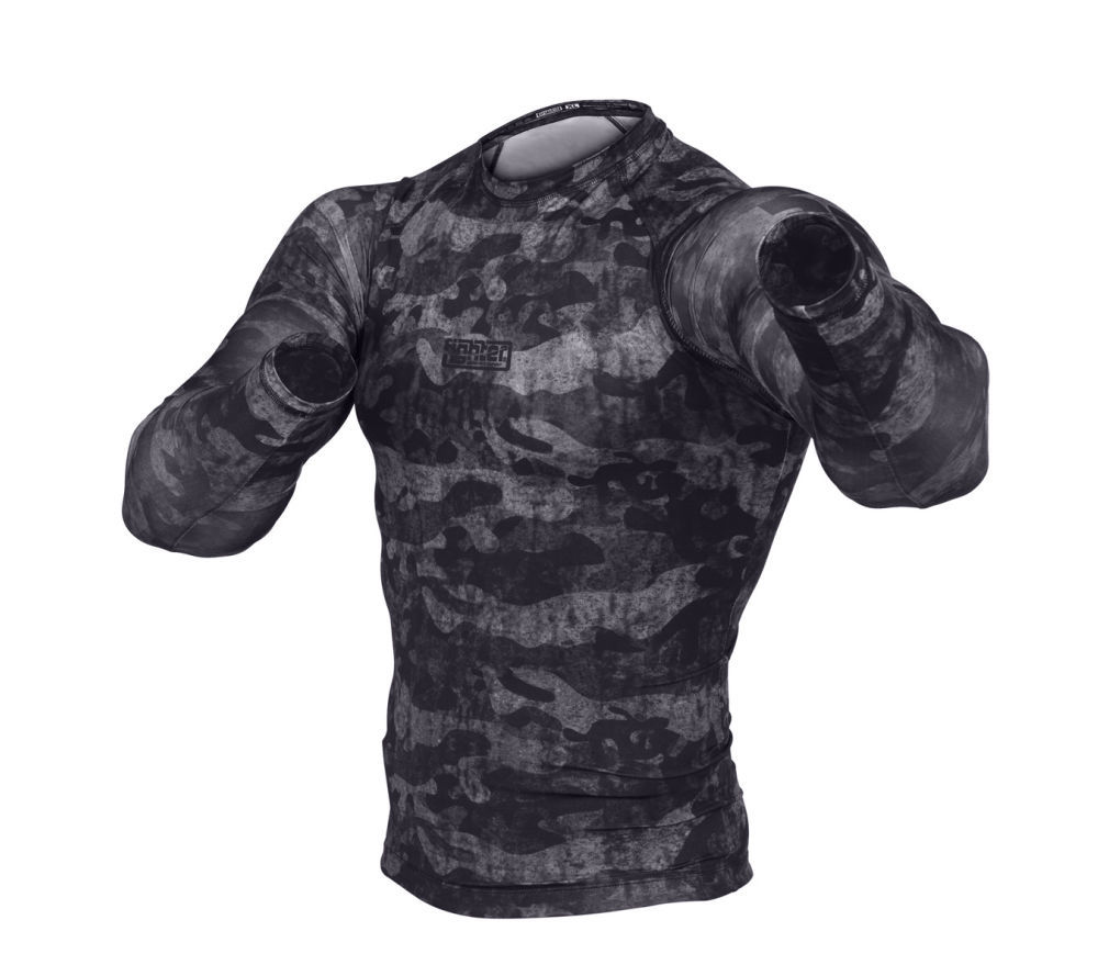 Рашгард Rash guard Fighter - Urban Camo - black. Чехия