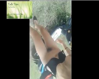 Clip: Phịch thủ phang bạn gái vếu to bên rừng!!!