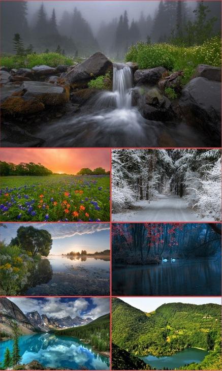 HQ Tapety. Piękną przyroda. Część 83