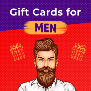 Gift Cards for Men
