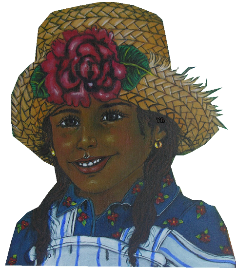 Girl_With_Hat_And_Flower_1