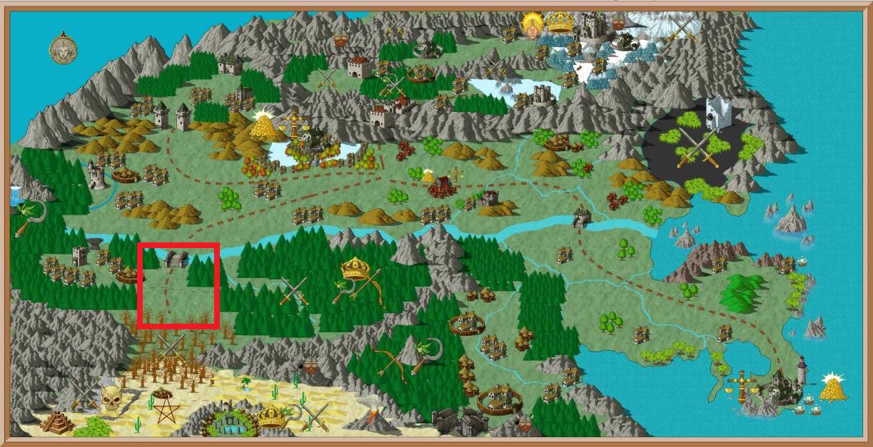 La Rivera Sur del río Ithaca Mapa_1