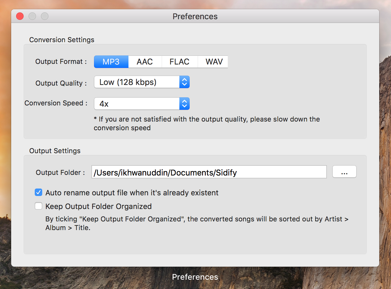 Download mp3 Spotify Premium Mac Sidify