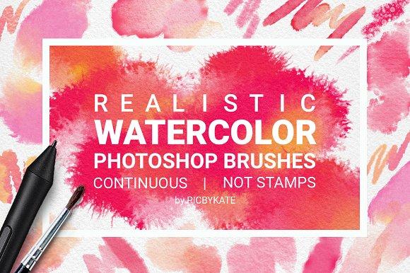 WATERCOLOR PHOTOSHOP BRUSHES - 1409118 - Heroturko Download