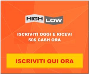highlow bonus gratis