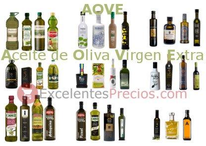 AOVE, que es aove, ¿Qué es AOVE? , aceite de oliva virgen extra, selección de aove, Picual, Cornicabra, Arbequina, Hojiblanca...