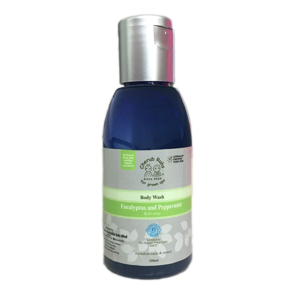 Cherubrubs Body Wash Eucalyptus & Peppermint 100ml