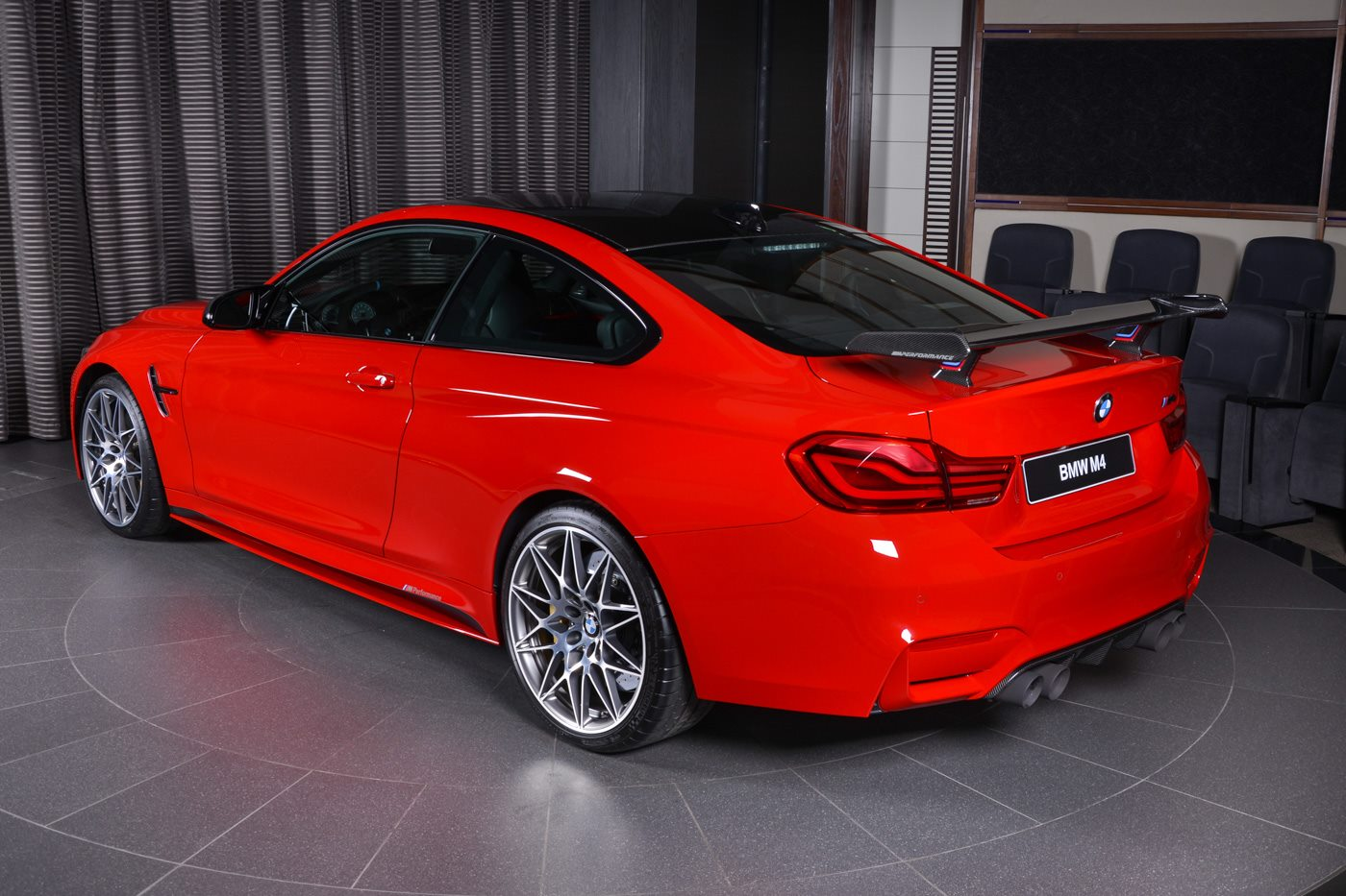 Ferrari Red Bmw M4 Competition Armytrix M Performance Gts
