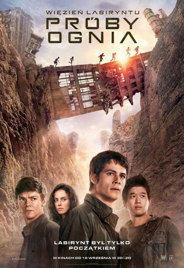 Więzień labiryntu: Próby ognia / Maze Runner: The Scorch Trials (2015) PL.BRRip.XviD-GR4PE   Lektor PL